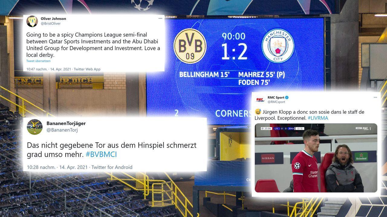 Abschluss des Champions League-Viertelfinals - Bildquelle: imago images