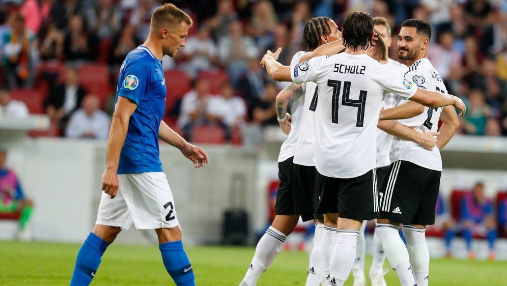 Deutlicher Sieg für Deutschland gegen Estland - Bildquelle: imago