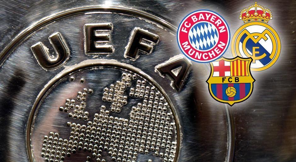 UEFA-Kohle in 24 Jahren - Bildquelle: getty images