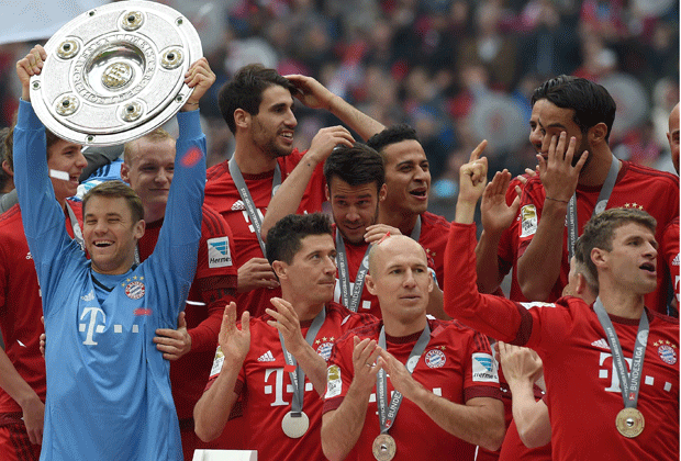 Bayerns Torlos-Rekord