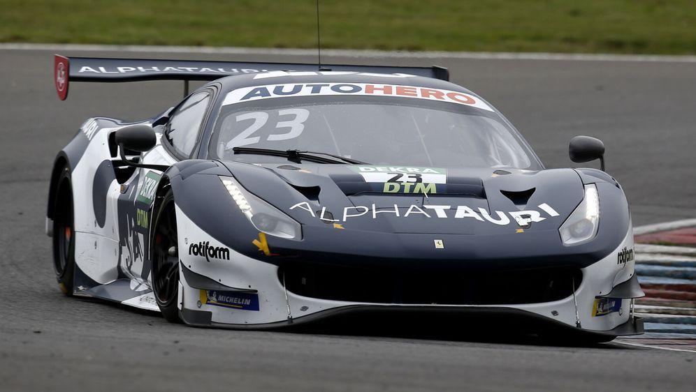Beinahe wäre der AlphaTauri-Ferrari in Monza ohne Piloten dagestanden. - Bildquelle: Motorsport Images