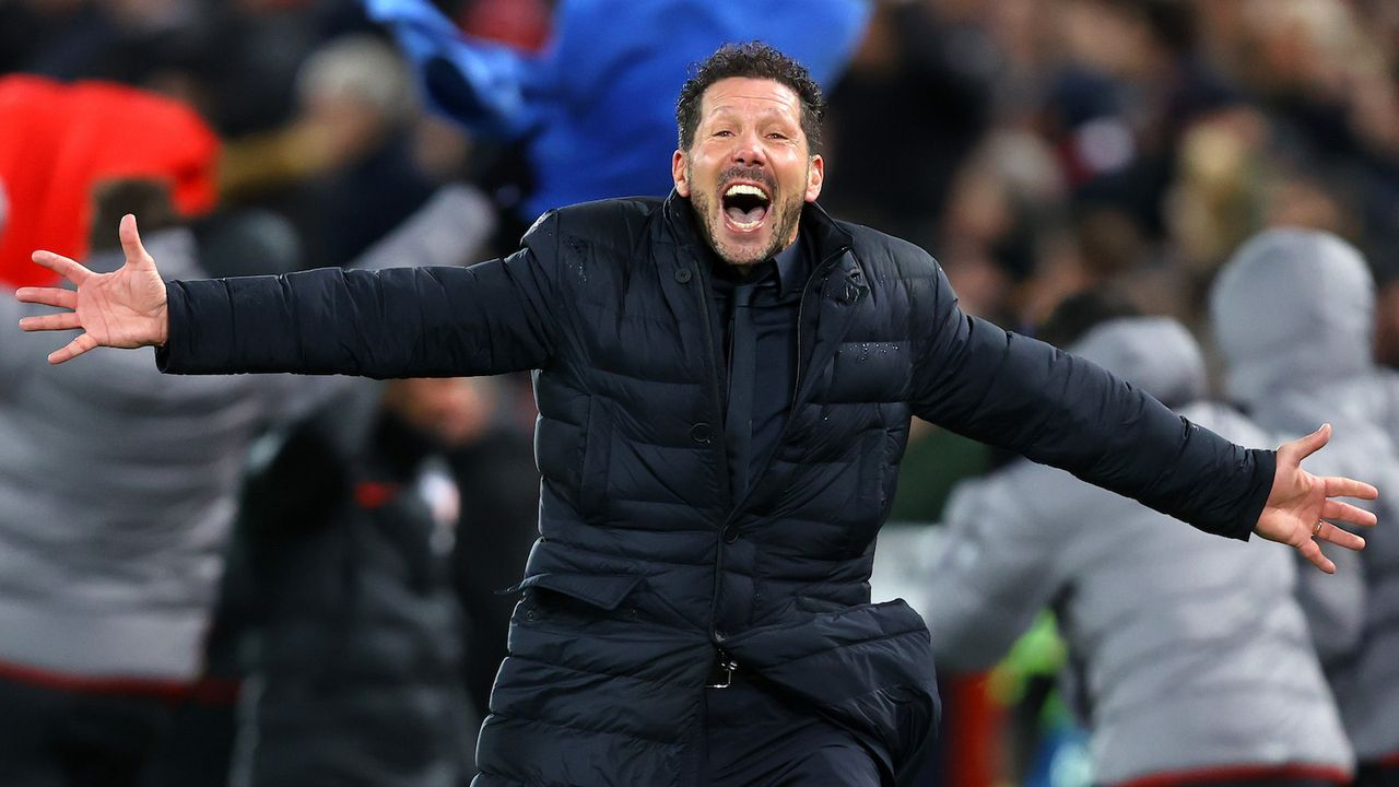 Platz 1: Diego Simeone - Bildquelle: getty