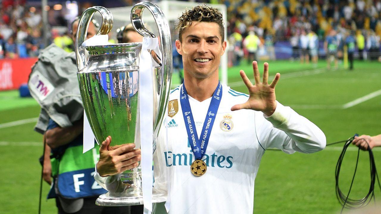 Platz 3 - Cristiano Ronaldo - Bildquelle: 2018 Getty Images