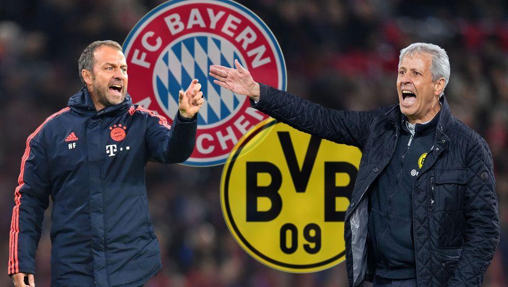 Bayern-Trainer Hansi Flick steht vor der ersten Bewährungsprobe in der Bunde... - Bildquelle: 2019 imago