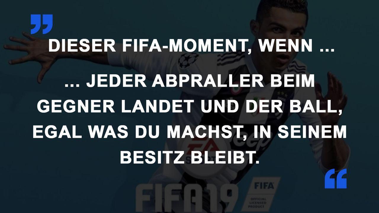 FIFA Momente Ballbesitz