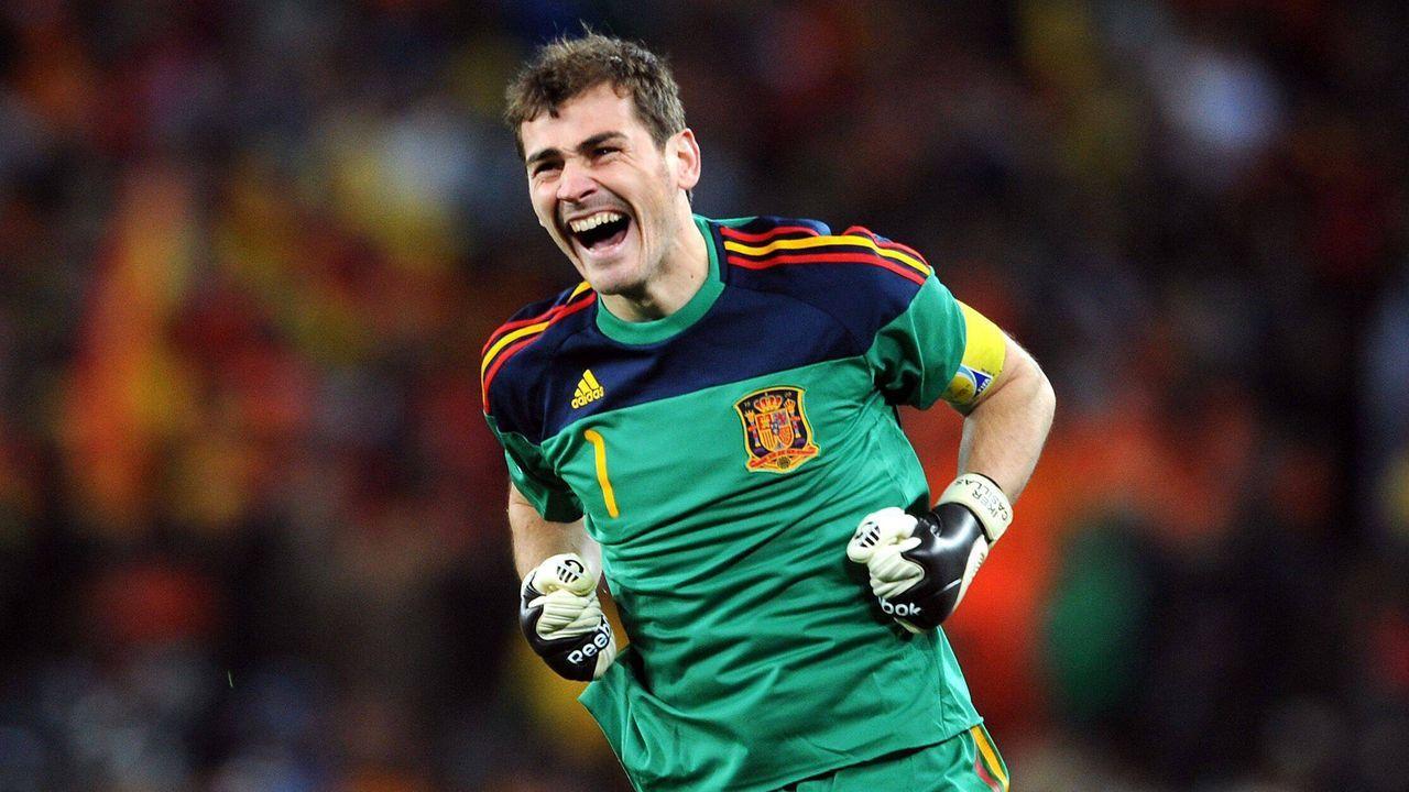 Platz 4 (geteilt): Iker Casillas (Spanien) - Bildquelle: imago images/Shutterstock