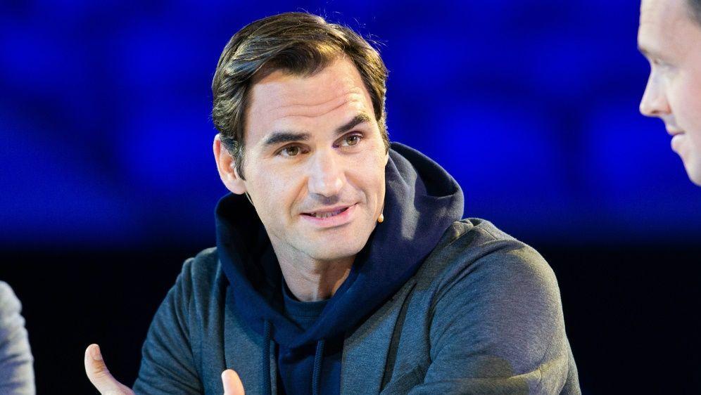 """""""Ein bisschen geschockt"""": Roger Federer - Bildquelle: SID-SID-AFPASANKA BRENDON RATNAYAKE"""
