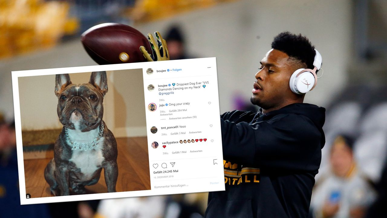 JuJu Smith-Schuster - Pittsburgh Steelers - Bildquelle: getty/@boujee