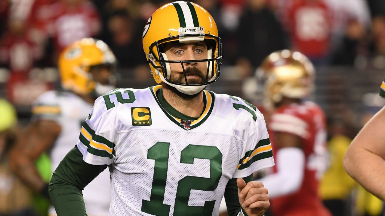 Platz 9: Aaron Rodgers (Green Bay Packers) - Bildquelle: Getty