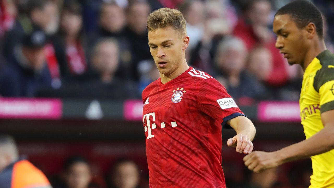 Joshua Kimmich (FC Bayern) - Bildquelle: Getty 2019