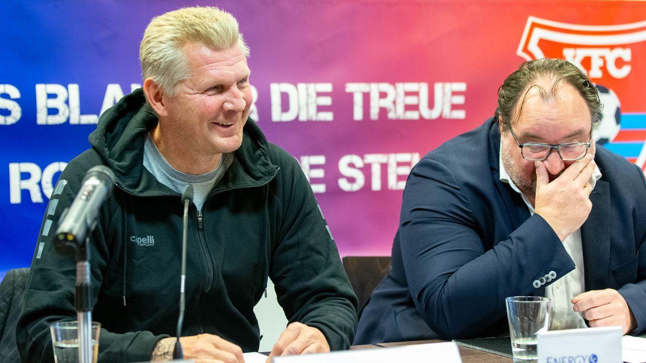 Stefan Effenberg (Manager KFC Uerdingen) - Bildquelle: imago images/Revierfoto