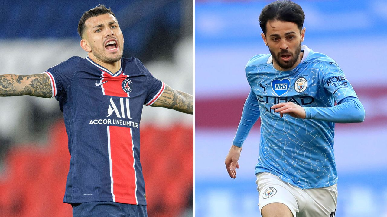 Rechter zentraler Mittelfeldspieler: Leandro Paredes vs. Bernardo Silva - Bildquelle: imago