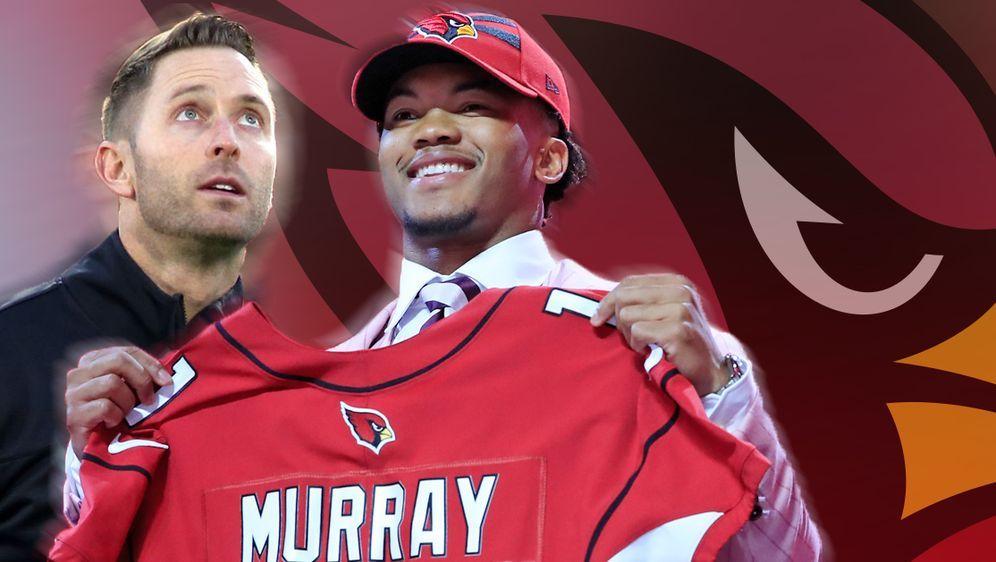 Die Gesichter des Umschwungs? Quarterback Kyler Murray und Head Coach Kliff ... - Bildquelle: imago / getty images