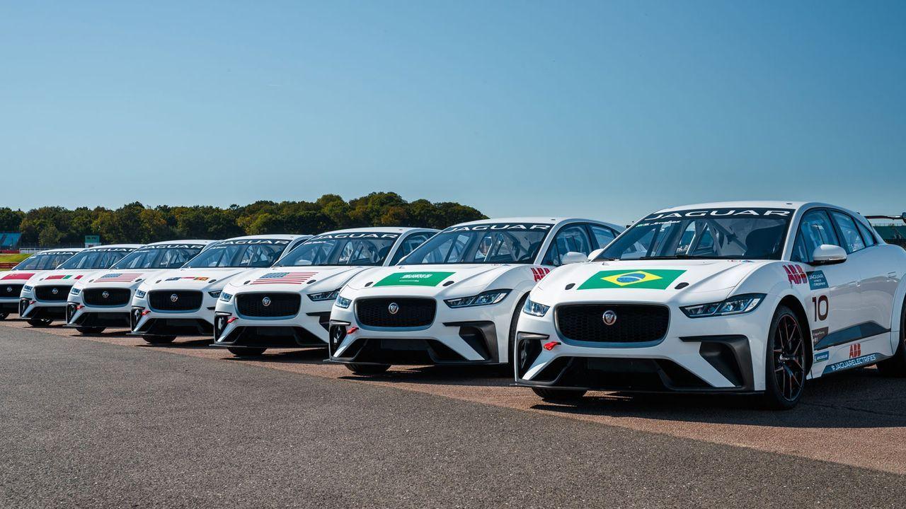 Jaguar I-PACE eTrophy: So sehen die Autos aus - Bildquelle: Jaguar