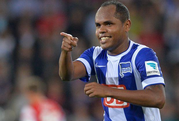 Platz 3: Ronny (Hertha BSC) - Bildquelle: 2014 Getty Images