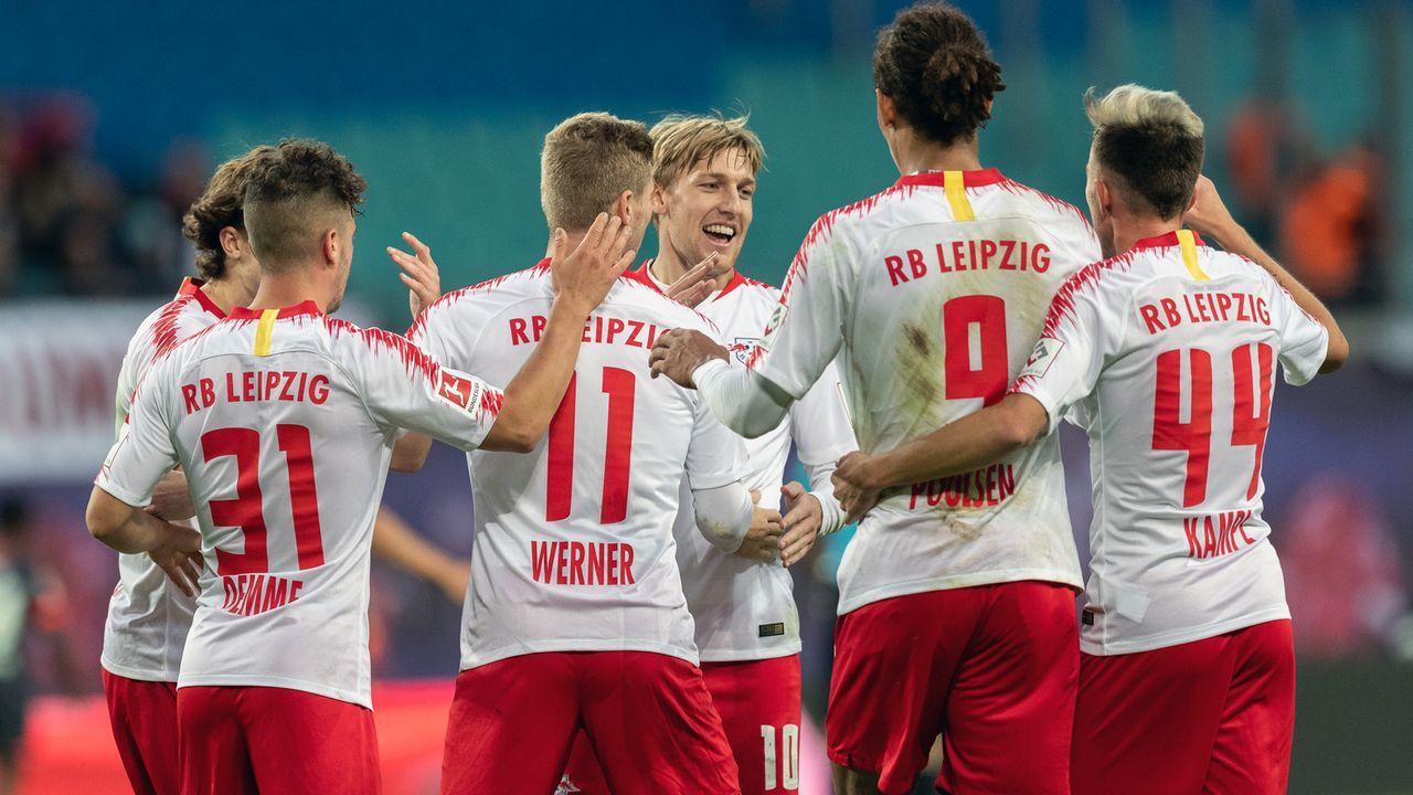 Platz 6 - RB Leipzig - Bildquelle: 2018 Getty Images