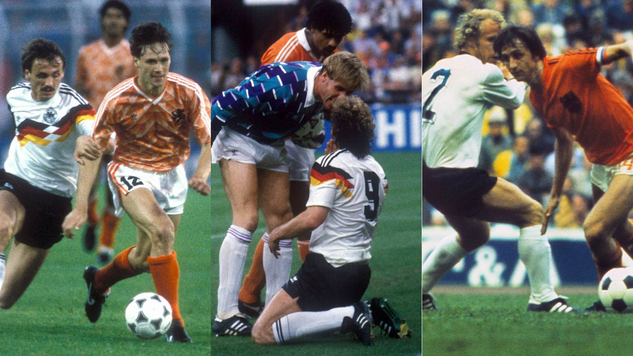Deutschland gegen die Niederlande: Szenen einer Rivalität - Bildquelle: Imago
