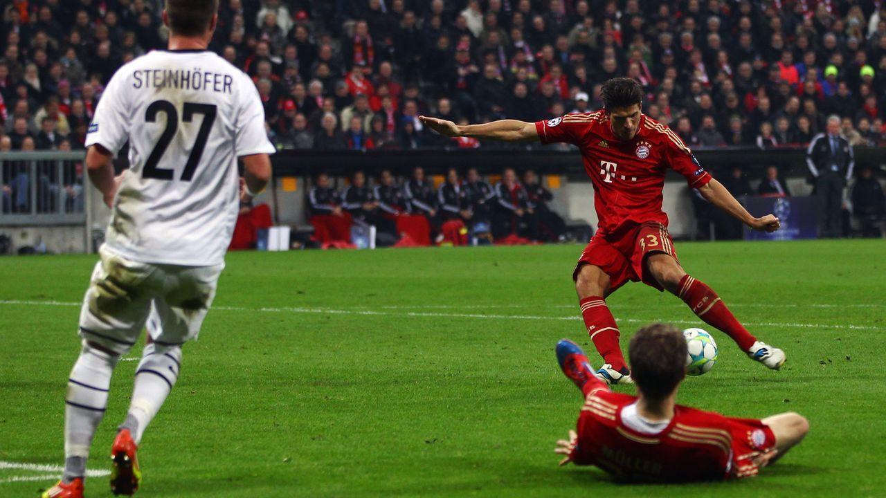 Mario Gomez (FC Bayern München) - Bildquelle: 2012 Getty Images
