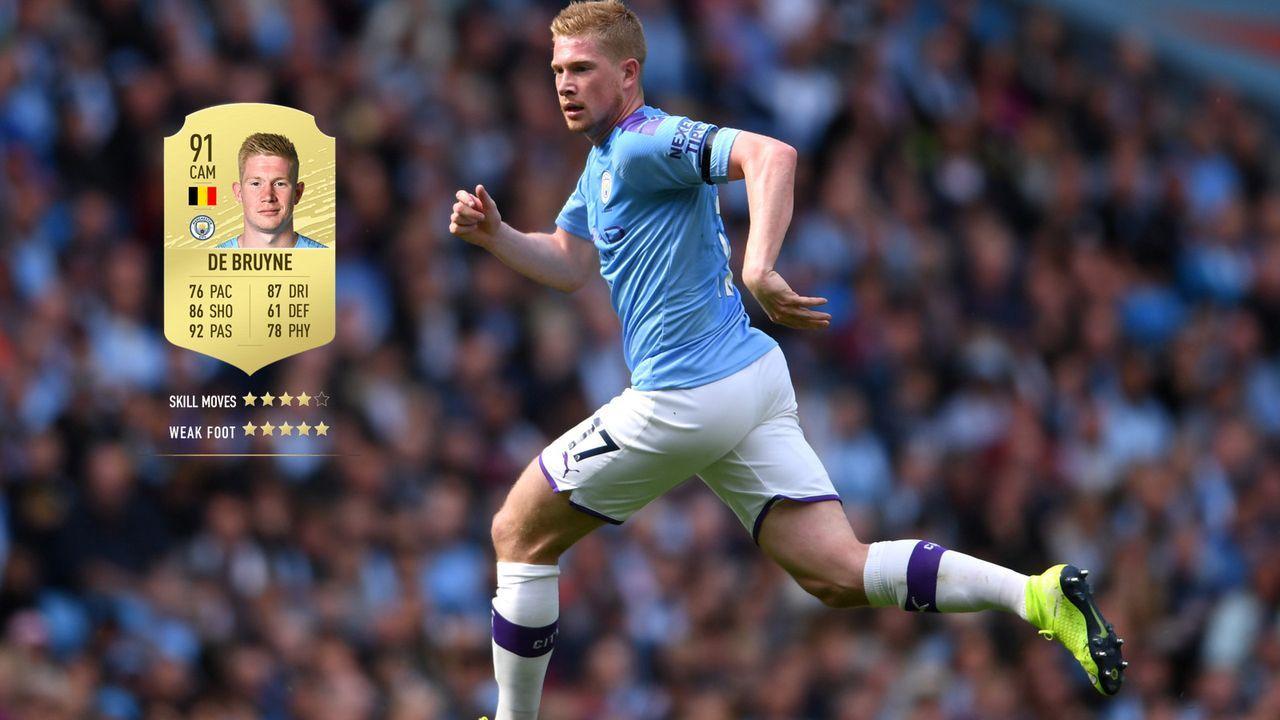 4. Kevin De Bruyne (Manchester City)  - Bildquelle: 2019 Getty Images