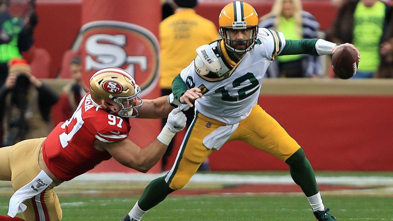 Verlierer: Aaron Rodgers (Green Bay Packers) - Bildquelle: 2020 Getty Images