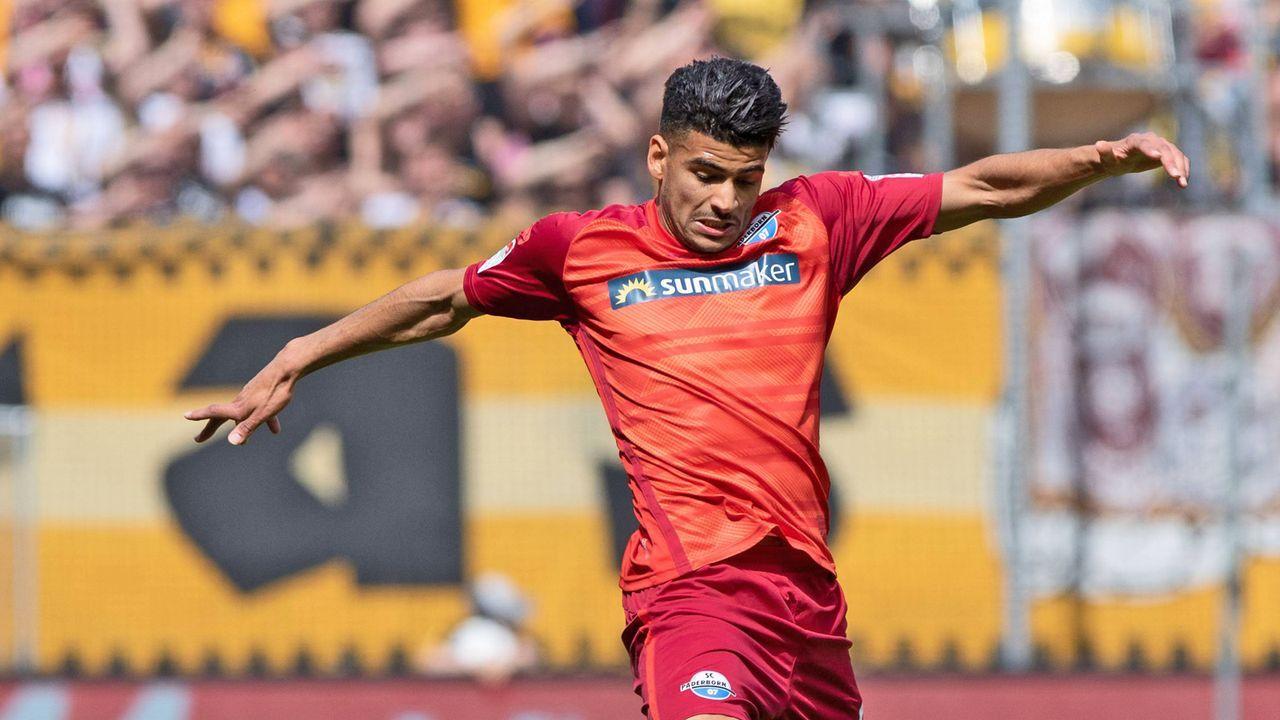 Mohamed Dräger (SC Paderborn) - Bildquelle: imago images / Revierfoto