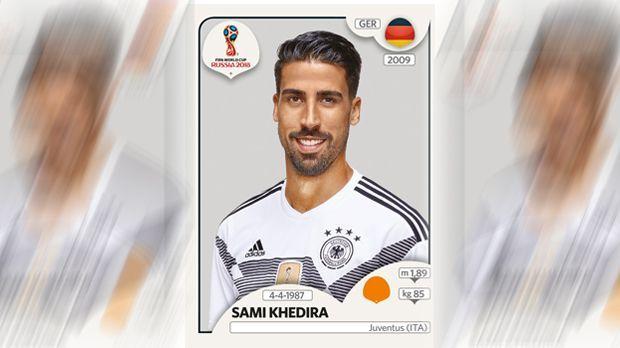 Sami Khedira (Juventus Turin) - Bildquelle: Panini