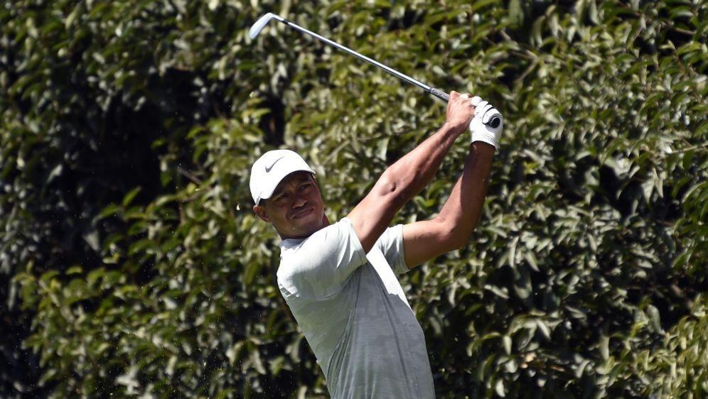Liegt derzeit neun Schläge hinter Koepka: Tiger Woods - Bildquelle: AFPSIDALFREDO ESTRELLA