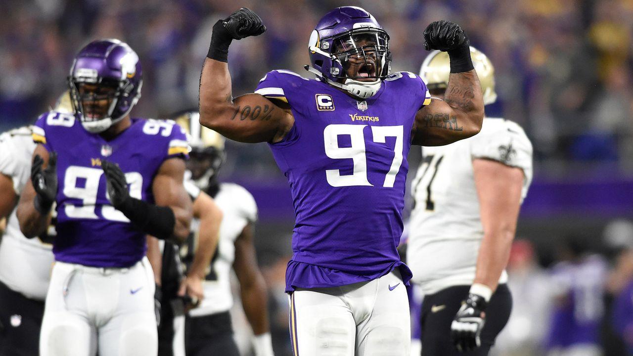 Everson Griffen (Minnesota Vikings)  - Bildquelle: 2018 Getty Images