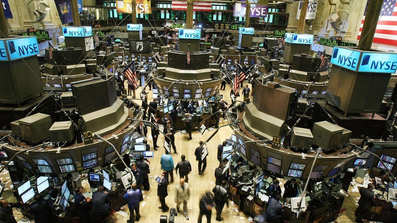 """Black Monday"" an der New Yorker Wallstreet - Bildquelle: 2007 Getty Images"