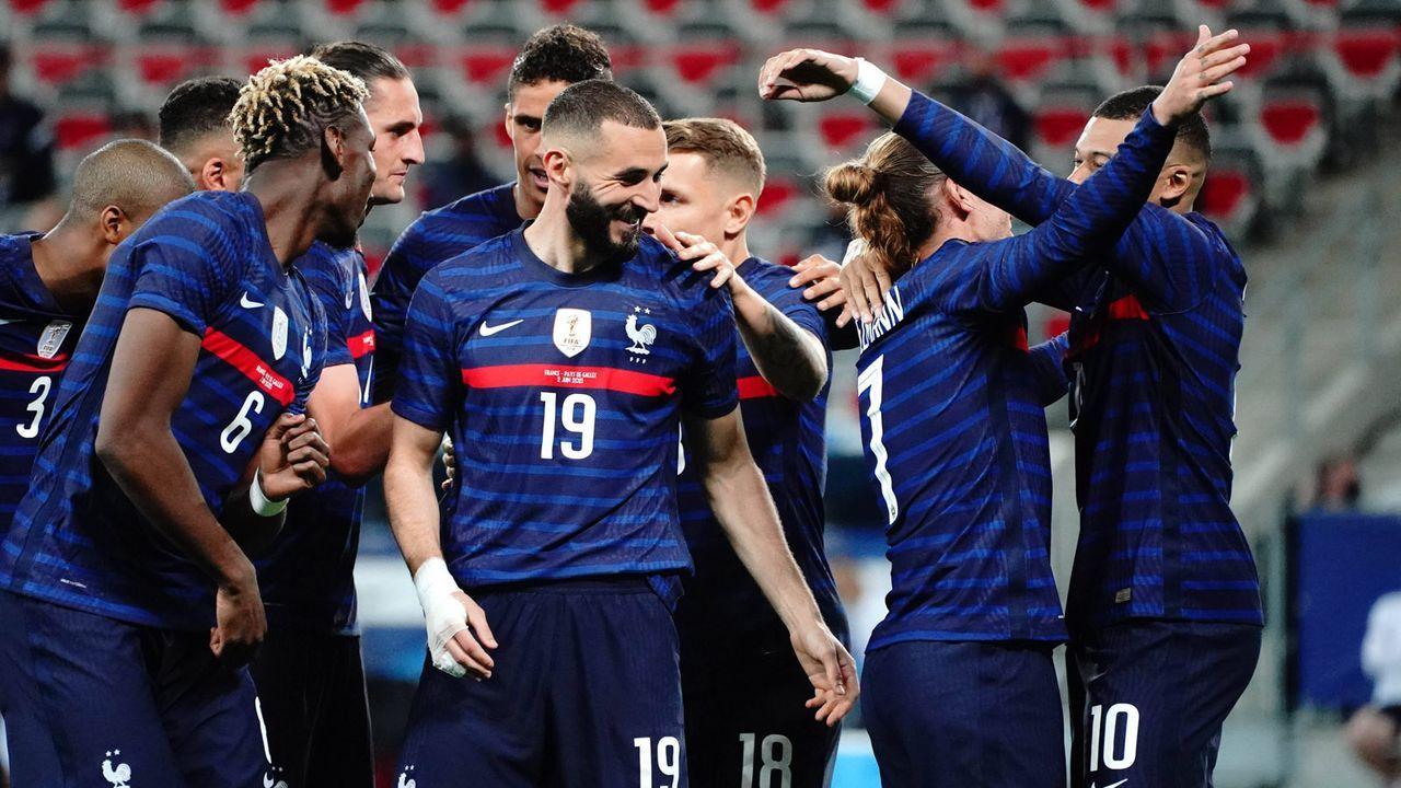 Frankreich wird Europameister - Bildquelle: 2021 imago