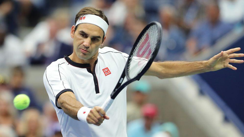 Federer mit Problemen in Runde drei. - Bildquelle: Getty Images
