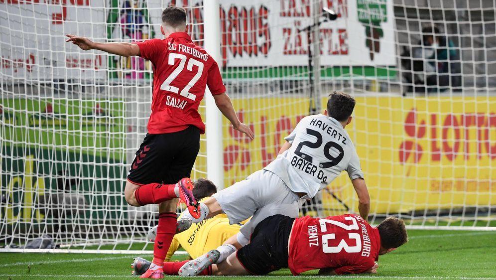 Havertz erzielt den Siegtreffer für Leverkusen - Bildquelle: Imago