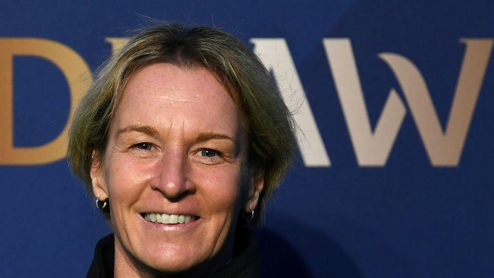 Martina Voss-Tecklenburg zieht ein positives Fazit - Bildquelle: AFPAFPFRANCK FIFE