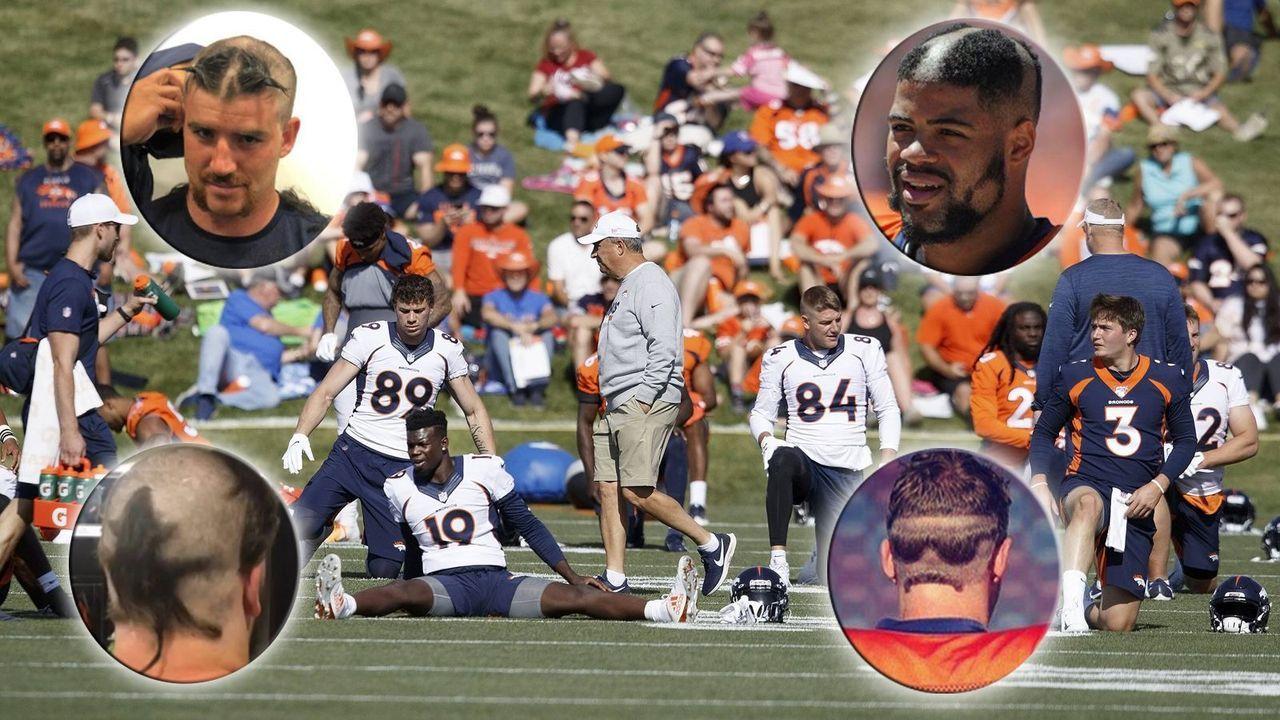 Die besten Rookie-Haircuts der Denver Broncos - Bildquelle: imago images / ZUMA Press