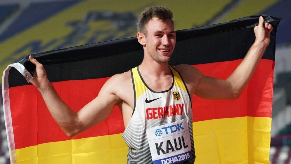 Besondere Auszeichnung für Zehnkämpfer Niklas Kaul - Bildquelle: PIXATHLONPIXATHLONSID