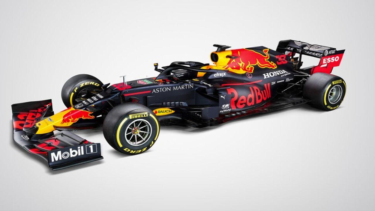 "Aston Martin Red Bull ""RB16"" - Bildquelle: Twitter / @redbullracing"