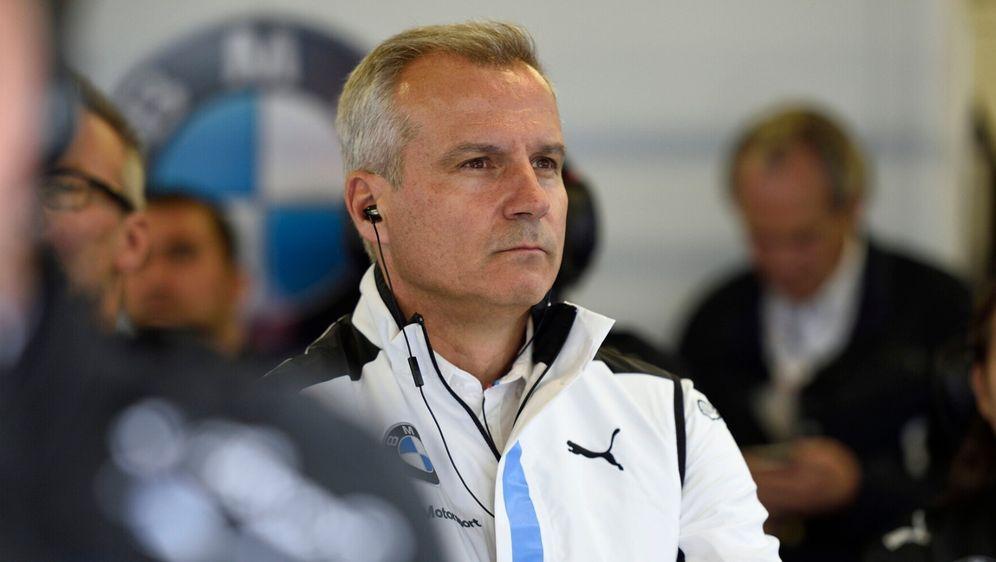 BMW-Motorsportdirektor Marquardt fürchtete um den Kundensport. - Bildquelle: BMW AG