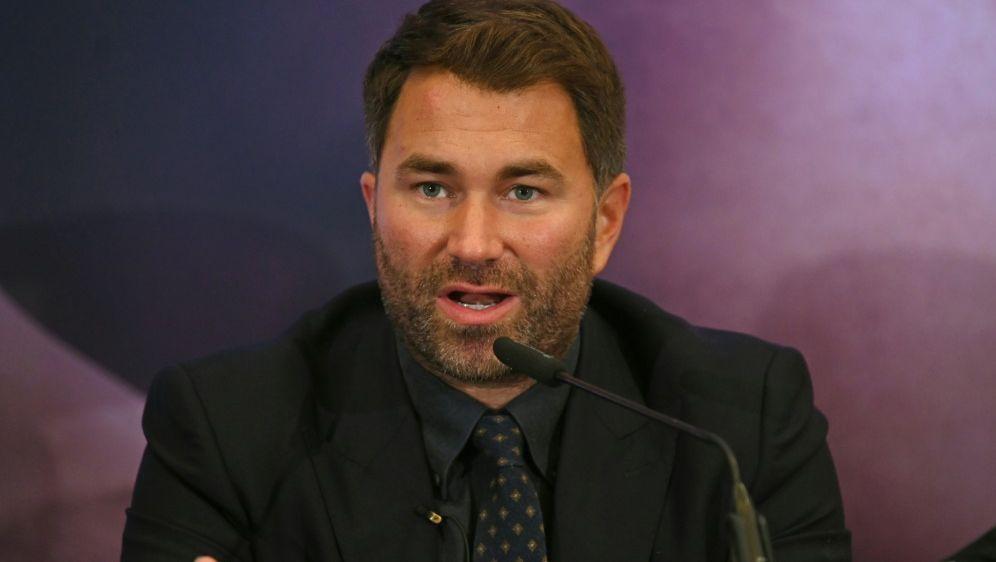 Eddie Hearn will Titelfight eventuell im Nahen Osten - Bildquelle: AFPSIDDANIEL LEAL-OLIVAS