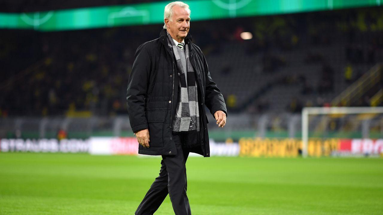 Rainer Bonhof (Borussia Mönchengladbach, Vize-Präsident) - Bildquelle: 2019 Getty Images
