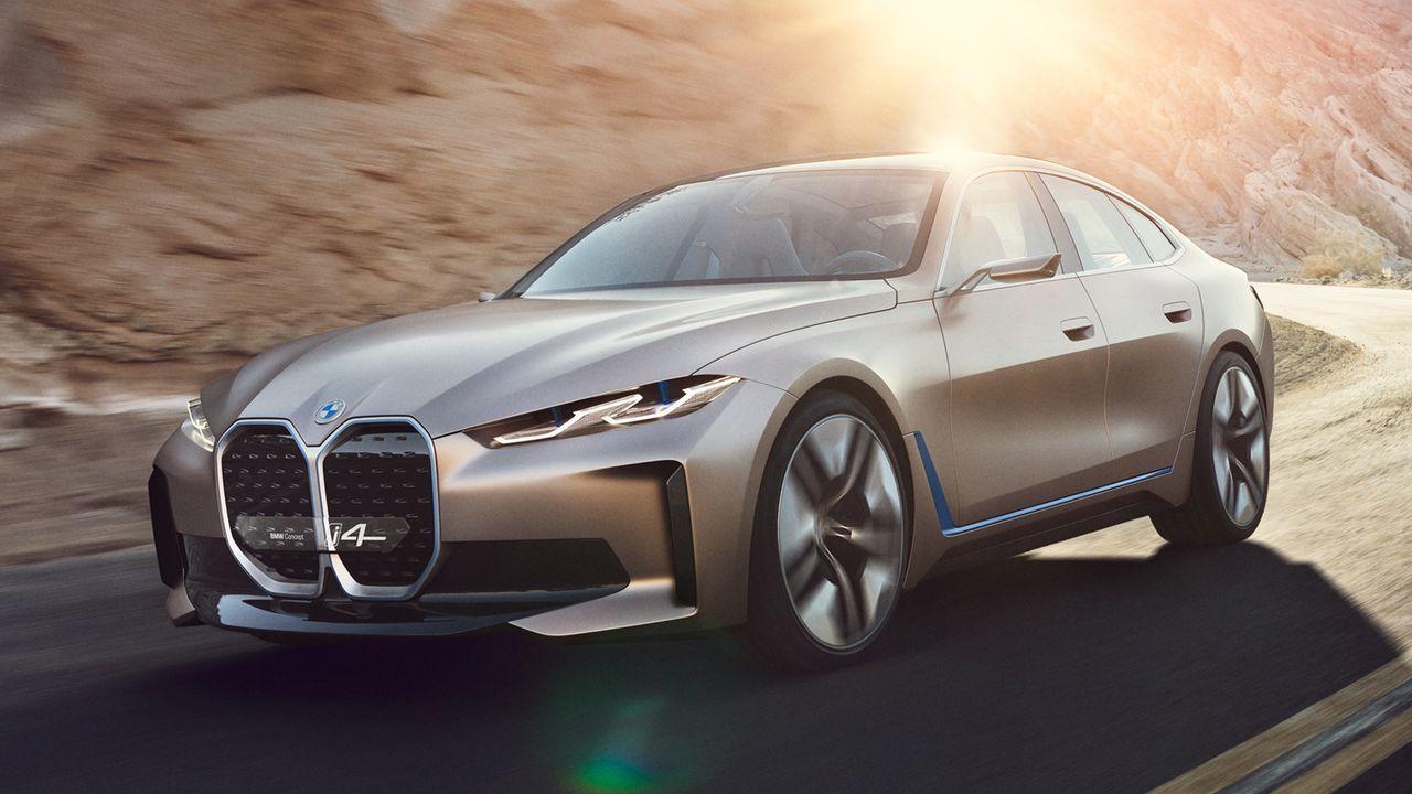 BMW i4 - Bildquelle: BMW