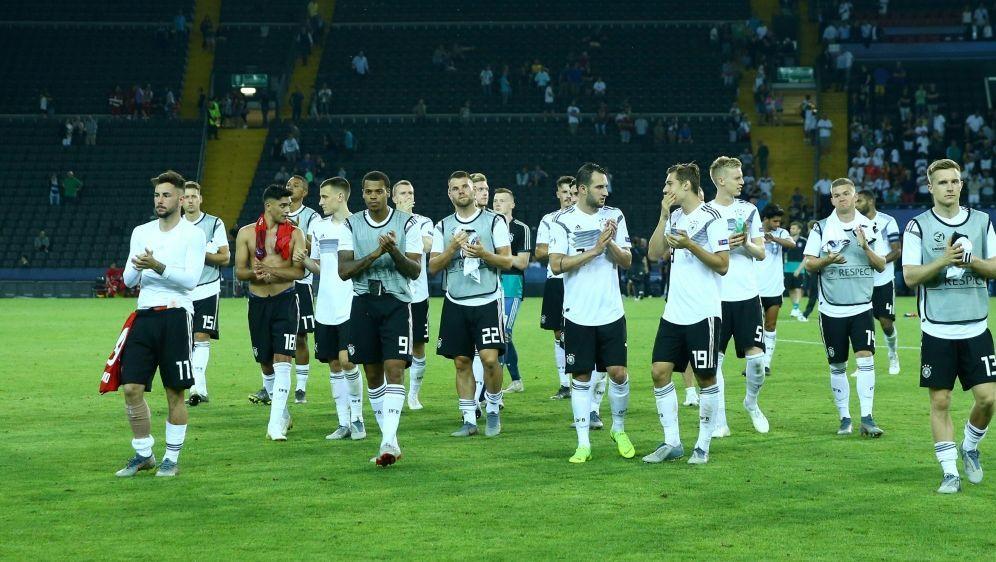 Deutschlands U21 trifft im Halbfinale auf Rumänien - Bildquelle: PIXATHLONPIXATHLONSID-Matteo Ciambelli
