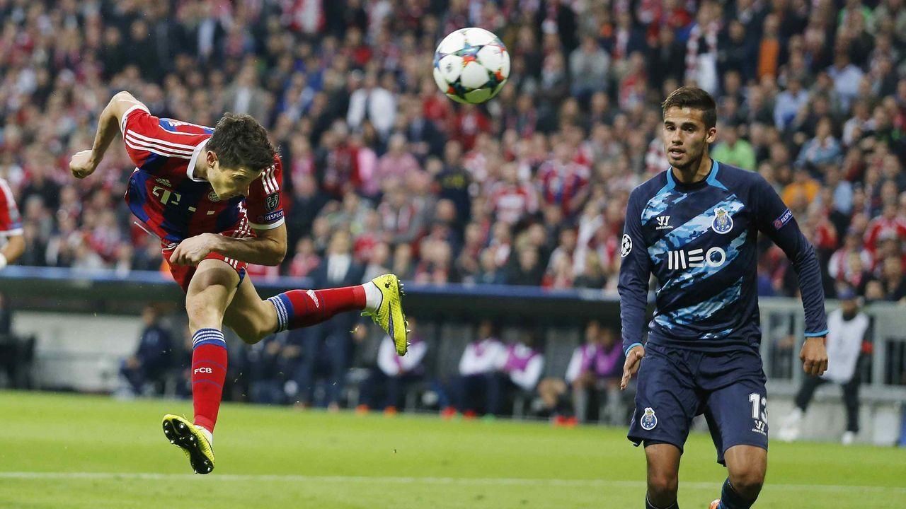 2014/2015: FC Porto gegen FC Bayern (Viertelfinale)  - Bildquelle: imago