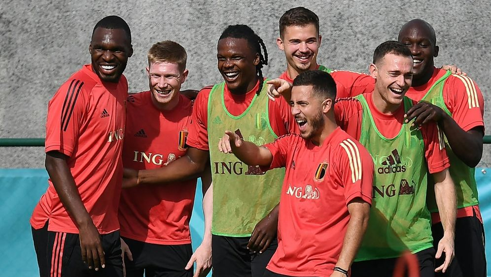 Es wird eine Grußbotschaft von Belgien an Eriksen geben - Bildquelle: AFPSIDJOHN THYS