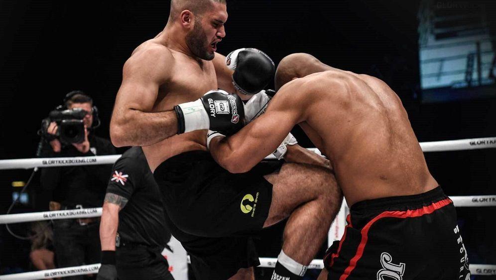 Mohamed Abdallah (li.) muss seinen Kampf bei Glory 64 absagen - Bildquelle: Glory