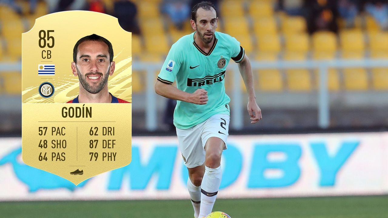 Diego Godin (Inter Mailand/Uruguay) - Bildquelle: 2020 Getty Images/EA Sports