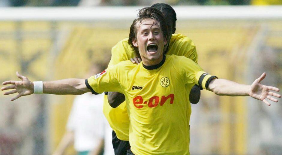 2001 - Tomas Rosicky zu Borussia Dortmund (14,5 Mio.) - Bildquelle: Bongarts