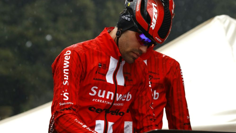 Tom Dumoulin wird nicht bei der Tour de France mitfahren - Bildquelle: AFPSIDLUK BENIES