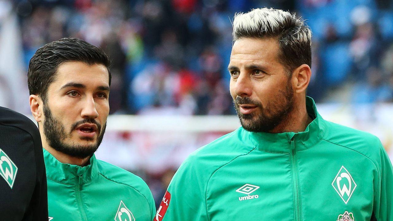 Auslaufende Verträge: SV Werder Bremen - Bildquelle: Imago