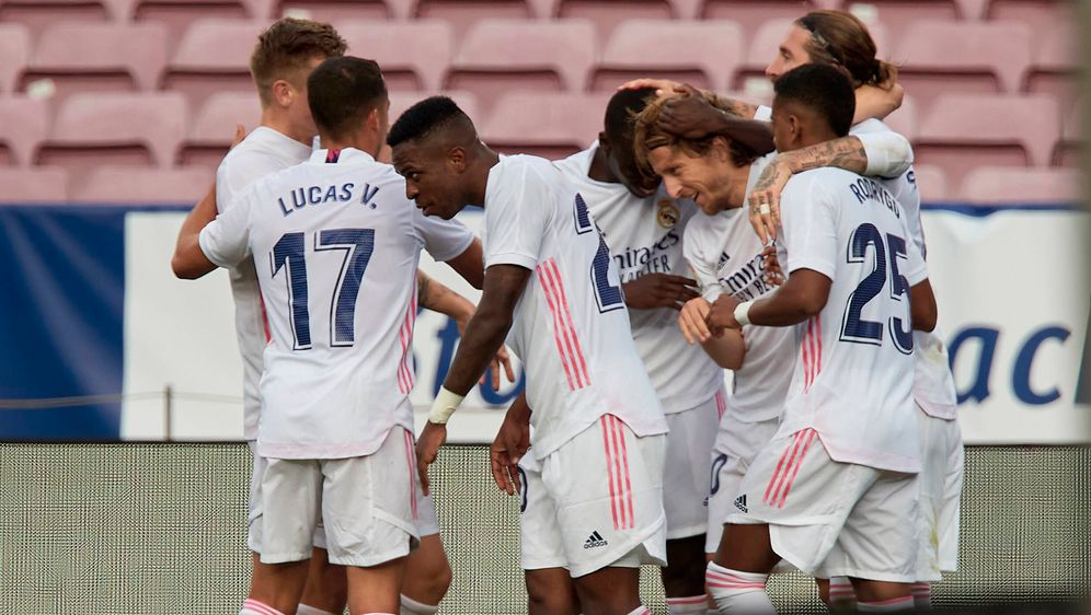 Real Madrid siegt im Clasico mit 3:1. - Bildquelle: imago