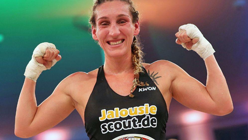 Julia Irmen ist eine von Deutschlands erfolgreichsten Kickboxerinnen - Bildquelle: Imago